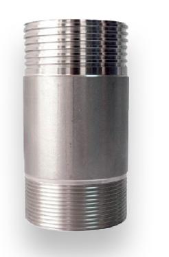 CASQUILHO TRANSIÇÃO INOX M/M 12cm